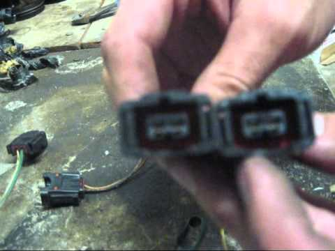 hqdefault 1g talon fuel injector clip replacement youtube Fuel Injector Wiring Harness Diagram at virtualis.co
