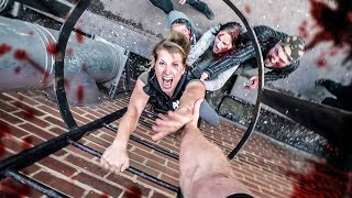 Zombie Chase Parkour POV - Last Empire War Z(While searching for a missing ally, two survivors find themselves in an intense zombie parkour chase. Experience the POV of the hero, escape from the hordes of ..., 2016-09-06T13:55:34.000Z)