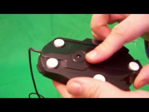 0c6a8e179e4 Microsoft SideWinder X5 Mouse Unboxing Test Review - YouTube