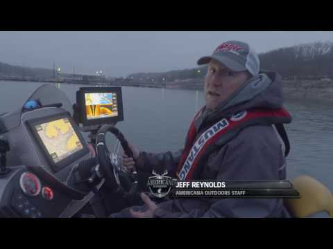 Bass Fishing On A Cloudy Day On Lake Texoma