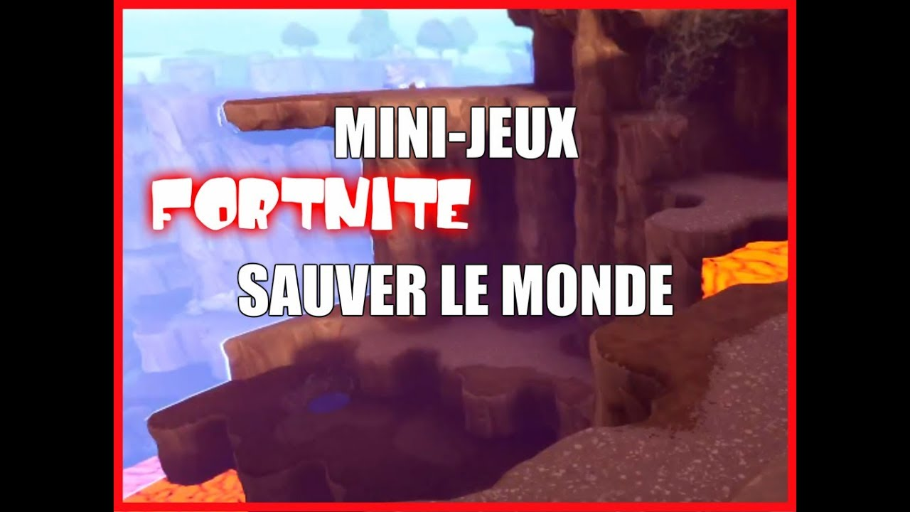 Mini Jeux Fortnite Sauver Le Monde