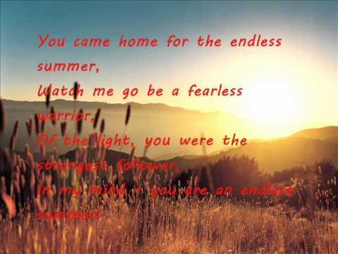 The Jezabels Endless Summer lyrics