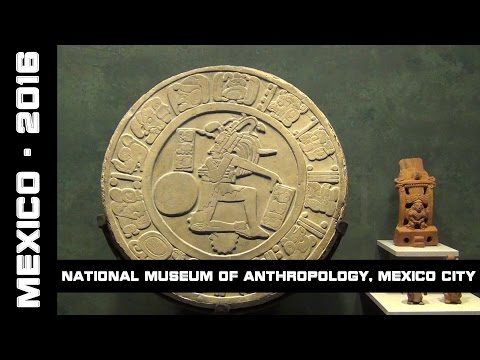 National Museum of Anthropology, Mexico City, Mexico, 2016