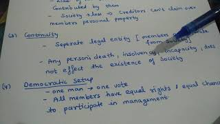 Merits of cooperative society (class 11)