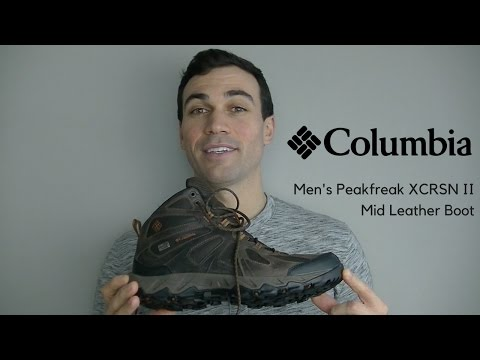 Columbia Men's Peakfreak XCRSN II Mid Leather Boot | Tested & Reviewed