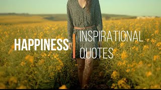 Happiness Inspirational Quote || Positive Affirmation || Motivational