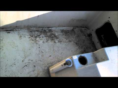 Cheap Way to Clean A Boat  Fiberglass Cleaning