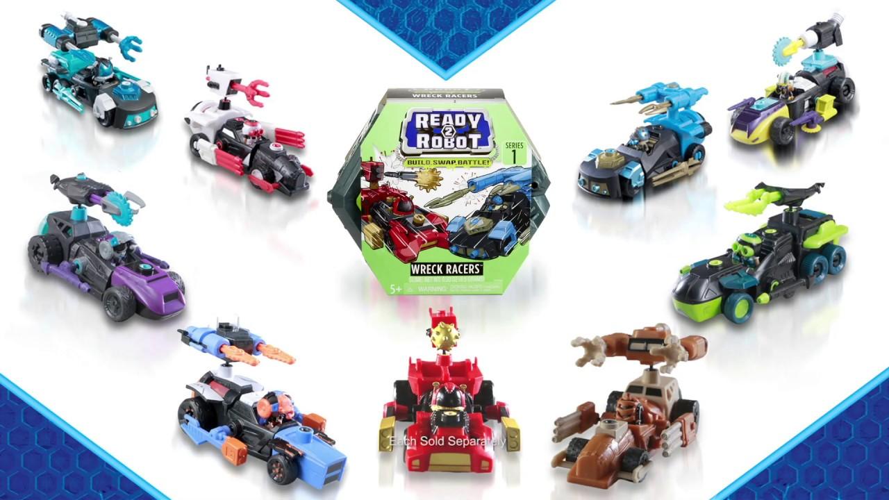 Ready2Robot | Wreck Racers | Slime Robot Battle Toys ...