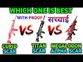 Which One Is Best Cupid Scar Vs Megalodon Alpha Scar Titan Scar Vs Megalodon Alpha Scar  Mp3 - Mp4 Download