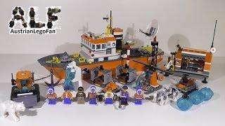 Lego City 60062 Arctic Icebreaker / Arktis Eisbrecher - Lego Speed Build Review