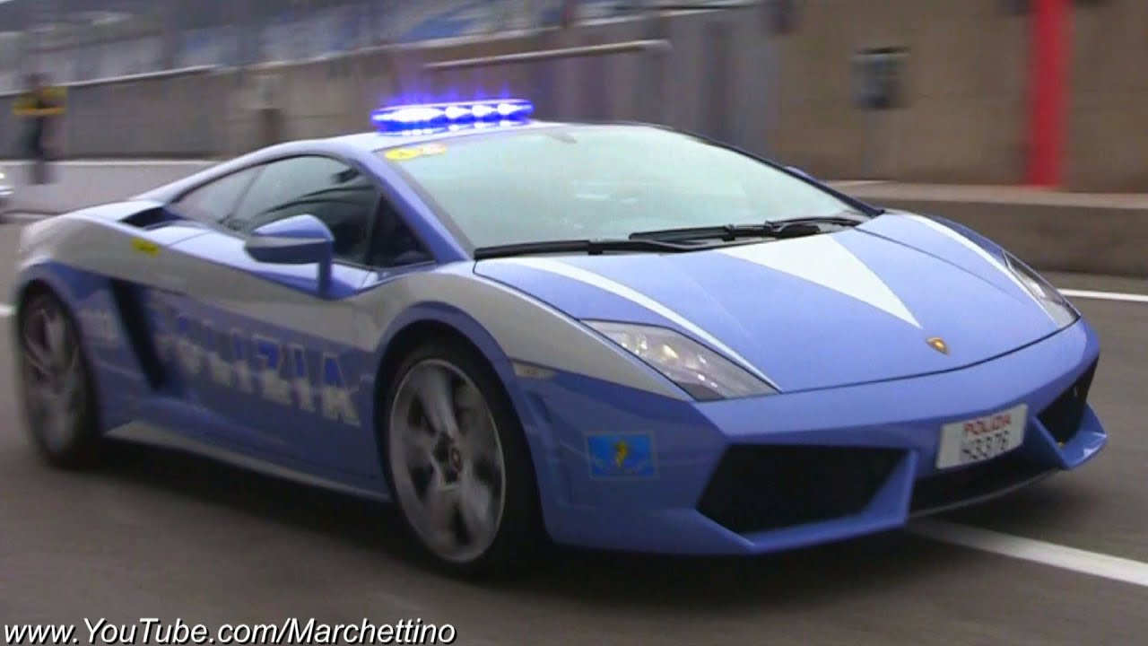 Lamborghini Gallardo Lp560 4 Police Car In Action Youtube
