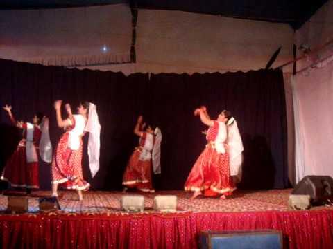 mazhavillin dance