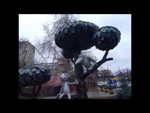 Воронеж. Котенок с улицы Лизюкова и 4 района проездом ...