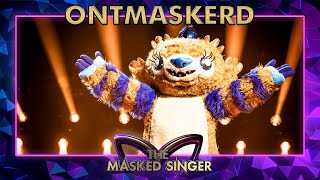 ONTMASKERD: Wie is Monster echt? | The Masked Singer | VTM