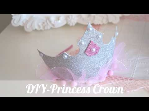 Easy DIY for girls- Princess Crown