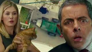 Cat DISASTER | Johnny English | Funny Clips | Mr Bean Comedy