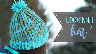 How To Loom Knit A Hat - Knit & Purl Stitches