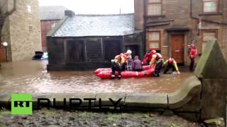 UK: Severe flooding hits northern England