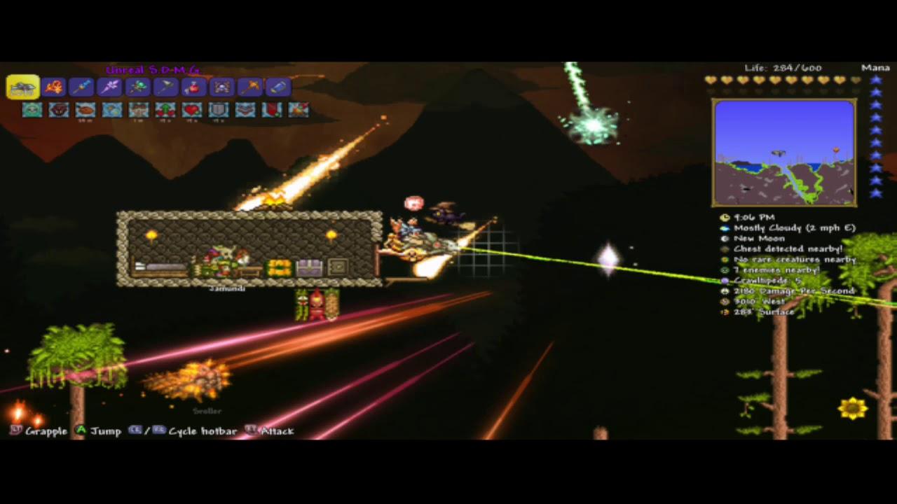 Terraria vortex beater glitch patched