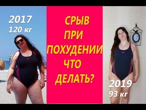 Срыв при похудении Что делать или Как я отношусь к срывам и борюсь с ними при похудении
