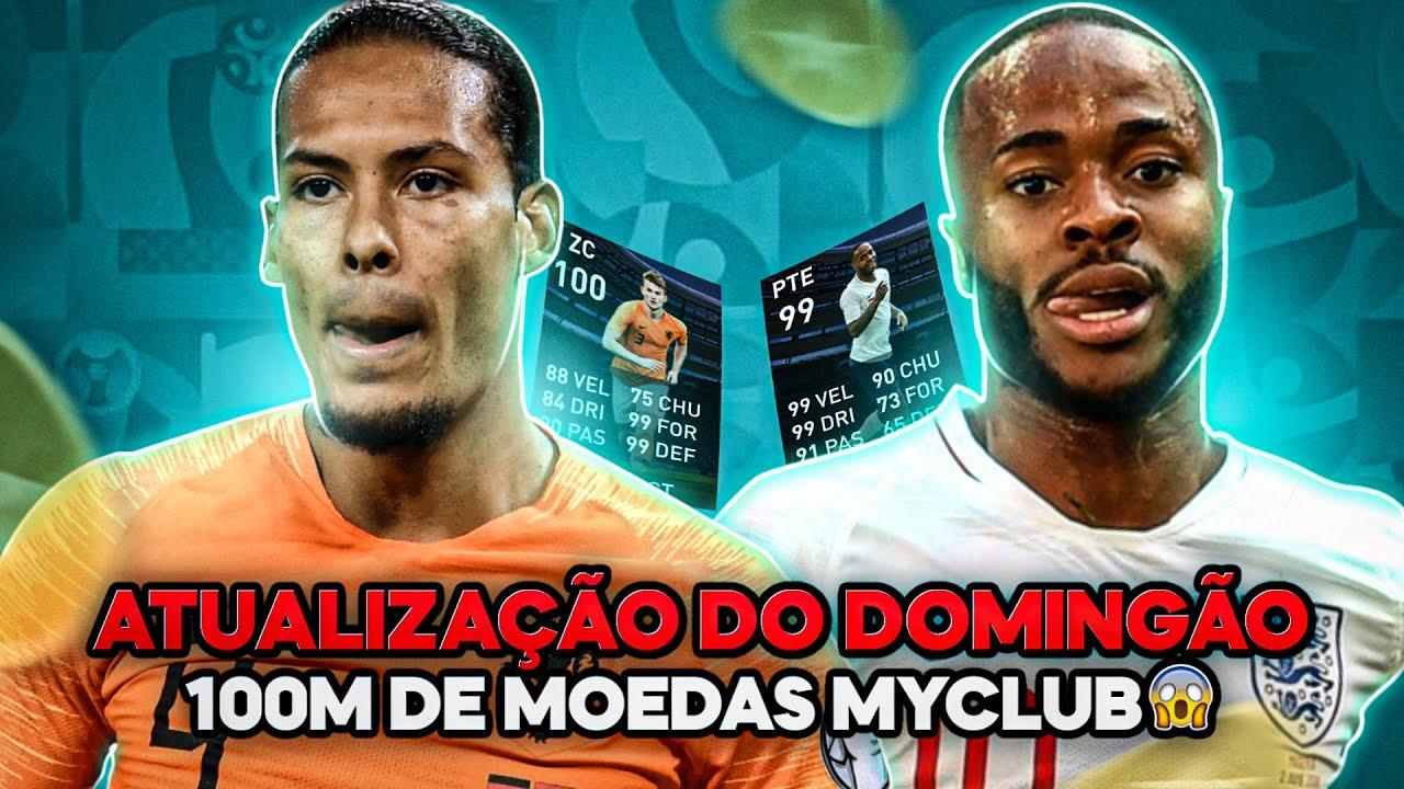 100 MILHÕES DE MOEDAS MYCLUB 😱 GANHE MOEDAS! NATIONAL TEMAS SELECTIONS! PACK OPEN! myclub PES 2020