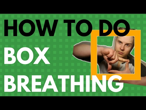 Use This Navy SEAL Technique To Stay Calm In Stressful Situations  - How To Do Box Breathing