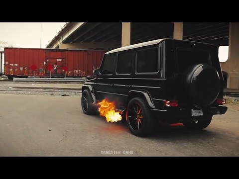 Night Lovell - Enemies / MB G55 AMG Black Gangster