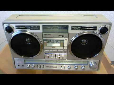 CLASSIC 80'S PANASONIC (National) RX-4920 BOOMBOX - YouTube  |80s Boombox