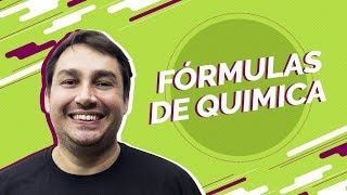 | Live | Fórmulas de Química para o Enem | Prof. Luiz Cláudio