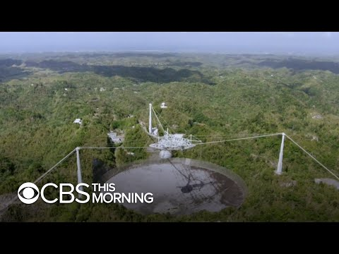 Arecibo radio telescope goes dark after mysterious destructi