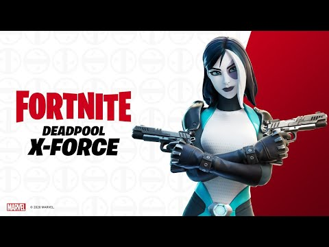 Fortnite (LEVEL 210) Whate Varient Of DEADPOOL AND X-FORCE