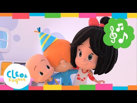 HAPPY BIRTHDAY. Cleo & Cuquin. Nursery Rhymes I Songs For Children