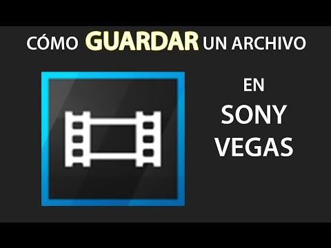 Cómo guardar un video en Sony Vegas Pro 13 2016