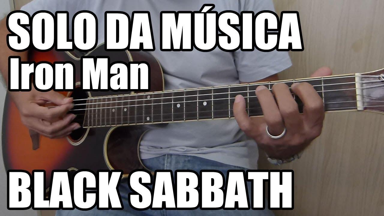Solo para Iniciantes em Violão - Iron Man - Black Sabbath (Riff fácil)