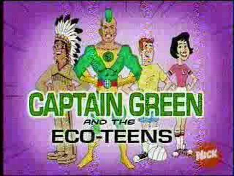 Captain Green And The Eco Teens Youtube