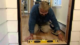 How to Install a Fiberglass Entry Door