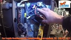 York Furnace Repair - Inducer Motor Failed - Rancho Cordova Furnace Heater Repair