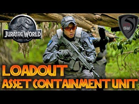 JURASSIC WORLD ASSET CONTAINMENT UNIT LOADOUT / KIT | SPARTAN117GW