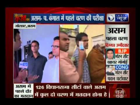 Assam Assembly election 2016: Gaurav Gogoi speaks to India News after casting his vote in Assam