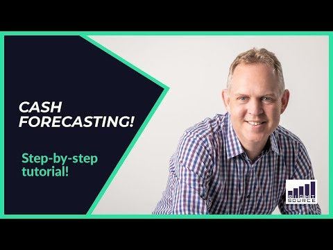 CASH Forecasting - Step By Step TUTORIAL thumbnail
