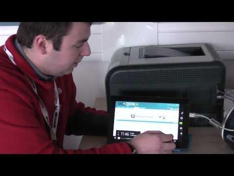 Microsoft Surface RT - Printing demo