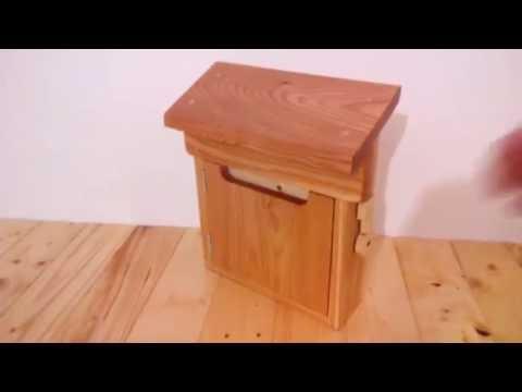 My diy wooden mailbox