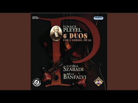 Duo in E minor No. 6: I. Adagio