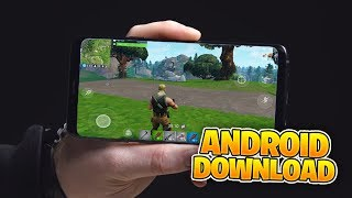 How To Download Fortnite MOBILE on Android (Fortnite Mobile)