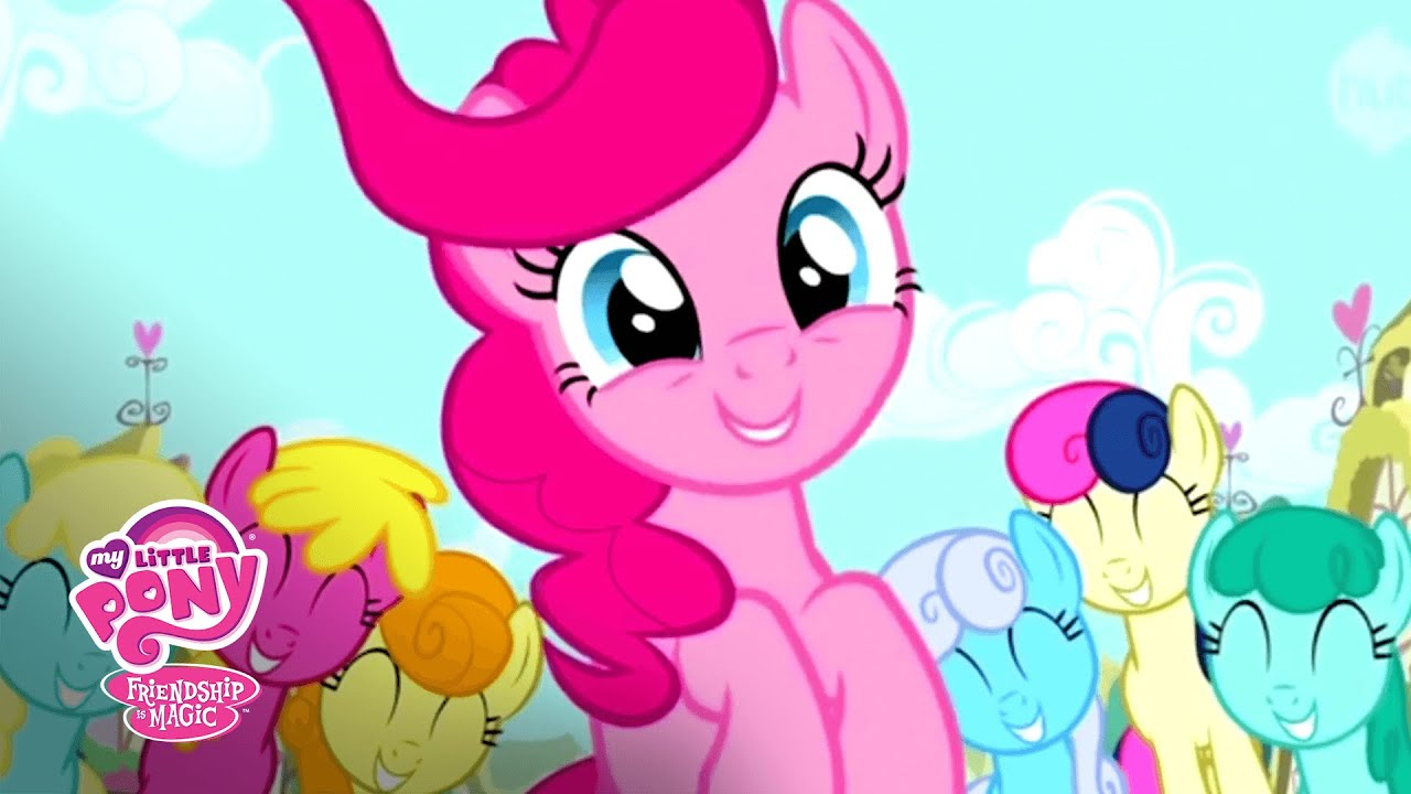 Love to see you smile pinkie pie mlp friendship is magic