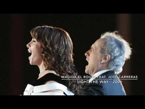 Magida El Roumi Feat. Jose Carreras - Light The Way l 2006