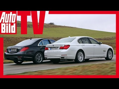 BMW 750i vs. Mercedes S 500