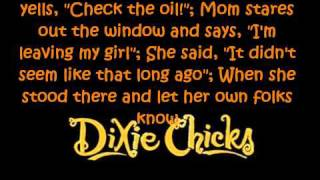Wide Open Spaces Dixie Chicks Lyrics