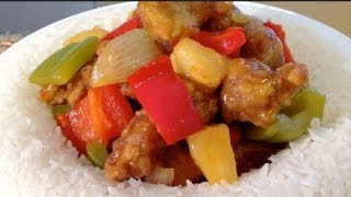 How To Make Sweet And Sour Pork-Chinese Food Recipes-Sauce