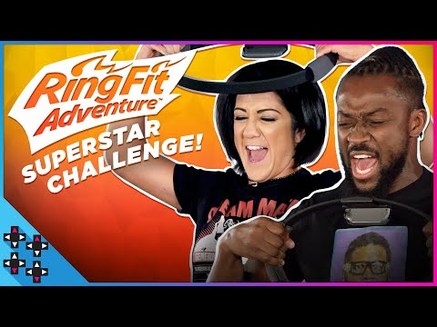 BAYLEY, BIG E, CESARO and KOFI start off the Ring Fit Adventure Competition!